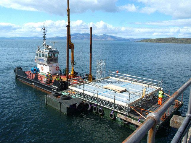 Hunterston Jetty Repair - Phase 1 - Image 1